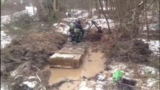 видео Как укрепить русло ручья?