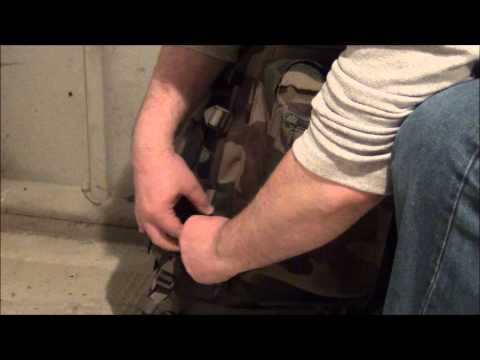 French Army F2 Molle or F3 Rucksack review