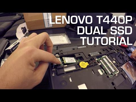 TUTORIAL: Lenovo T440P M 2 SATA SSD Upgrade - YouTube