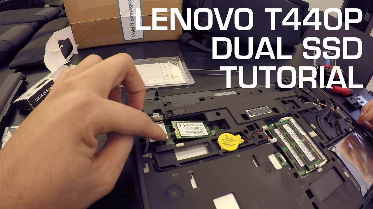 TUTORIAL: Lenovo T440P M 2 SATA SSD Upgrade