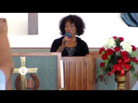 Helen Baylor ministering at GCT 7/7/13 part 1 of 2