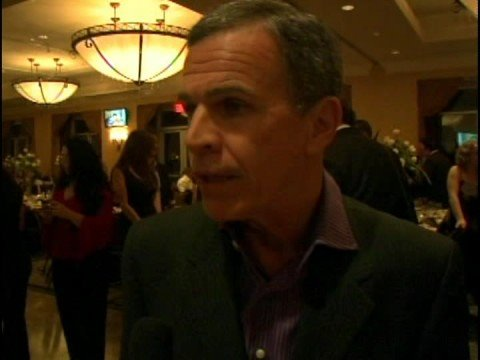 Actor Tony Plana on Celebrity Artist Michael Bell's Red Carpet Painting Unveiling in NY