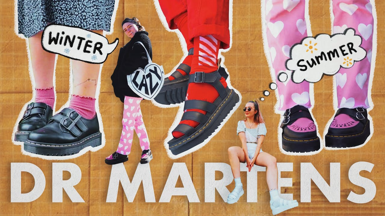 How to style Dr Martens in Summer & Winter // Styling docs for every season! (feat. @Maad Threads )