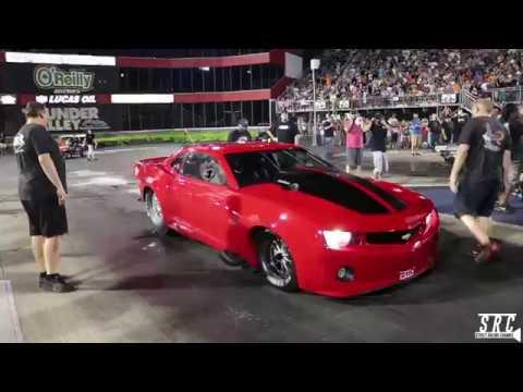 Street Outlaws Fireball Camaro vs. DADDY DAVE in GOLIATH!