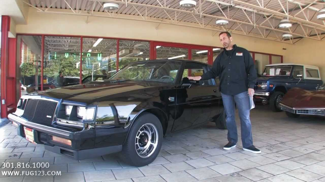 1987 Buick Grand National for sale Flemings with test drive, driving ...