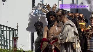 San Benito por la Plaza de Pilatos (Semana Santa Sevilla 2018)
