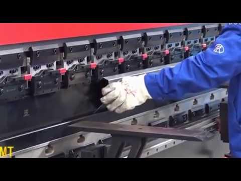 ZTMT Delem Da66t press brake operation video