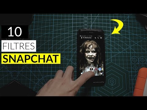 10 Filtres Snapchat que j'aime !