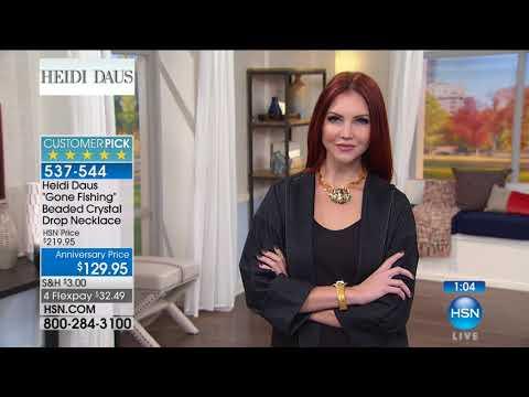 HSN | Heidi Daus Jewelry Designs Anniversary 09.20.2017 - 11 AM