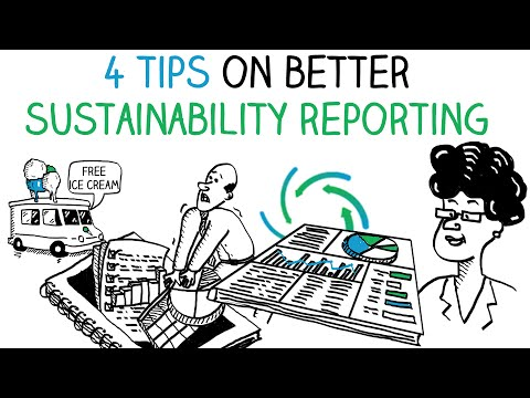 Sustainability reporting: 4 tips to make a better report