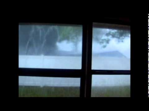 Crazy surprise storm blasts the Tampa Bay area! - 3/31/11 Weather Update