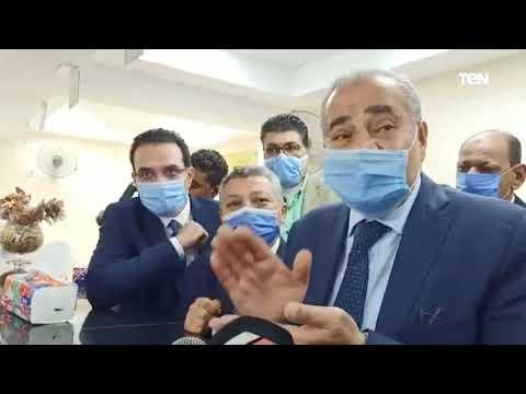 وزير التموين يحاور المواطنين أثناء افتتاح مركزا تكنولوجيًا لخدمة المواطنين بالسويس