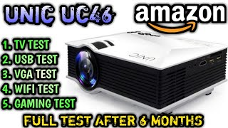 UNIC UC46 AFTER 6 MONTHS | FULL TEST OF UNIC UC46 | CHEAPEST PROJECTOR