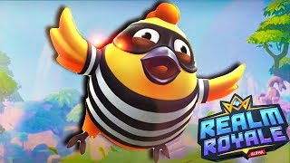 CHICKENS IN A BATTLE ROYALE? HAHAHA  | Realm Royale