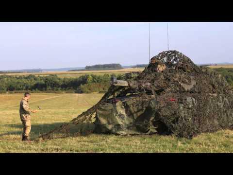 Royal Tank Training  2014-2015