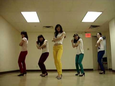 SNSD Gee Dance - by NYU girls