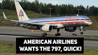 American Airlines LOVES The 797! LOL