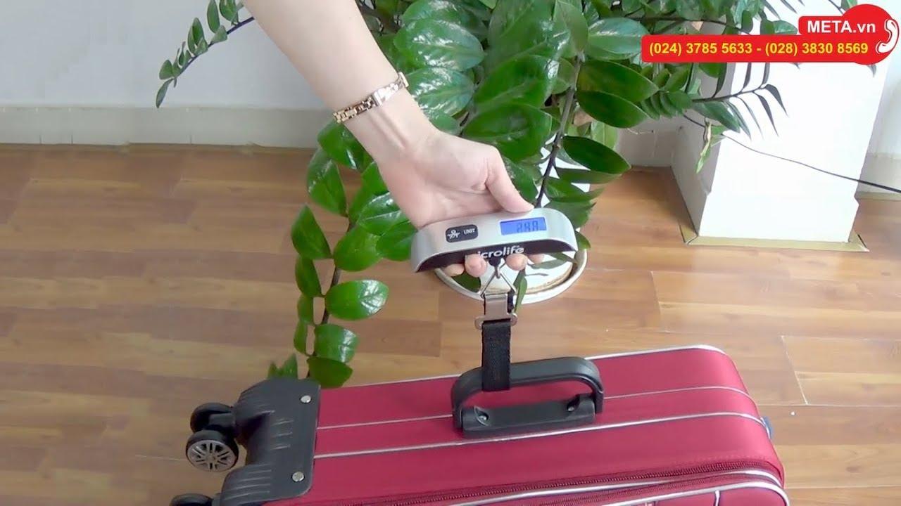 Hướng dẫn sử dụng cân xách tay mini Microlife NS14, giá chỉ 199.000đ