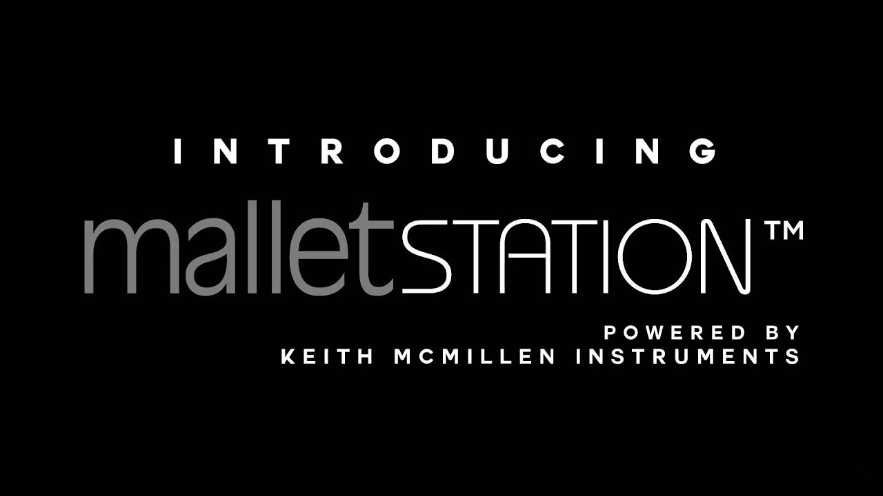malletSTATION Electronic mallet controller  Play any