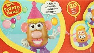Potato Head Party Spudette Party Spud Hasbro Cara de Papa Cabeça de Batata Party spud