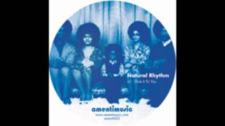 Natural Rhythm - You Dont Have To
