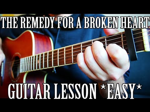 How to Play the remedy for a broken heart by XXXTentacion on Guitar *FOR BEGINNERS*