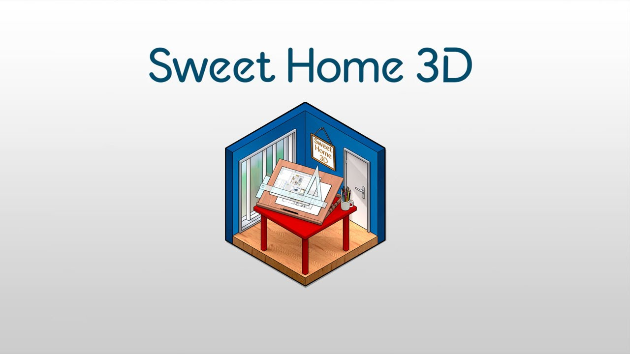 d couverte votre maison en 3d avec sweet home 3d youtube. Black Bedroom Furniture Sets. Home Design Ideas