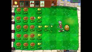 plants vs zombies - level 6-1 - game pc kids