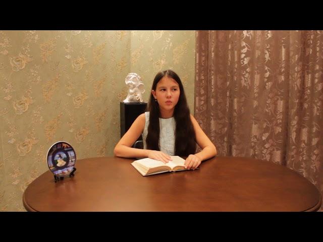 Изображение предпросмотра прочтения – КаринаАхматова читает произведение «Тот город,мной любимый с детства» А.А.Ахматовой