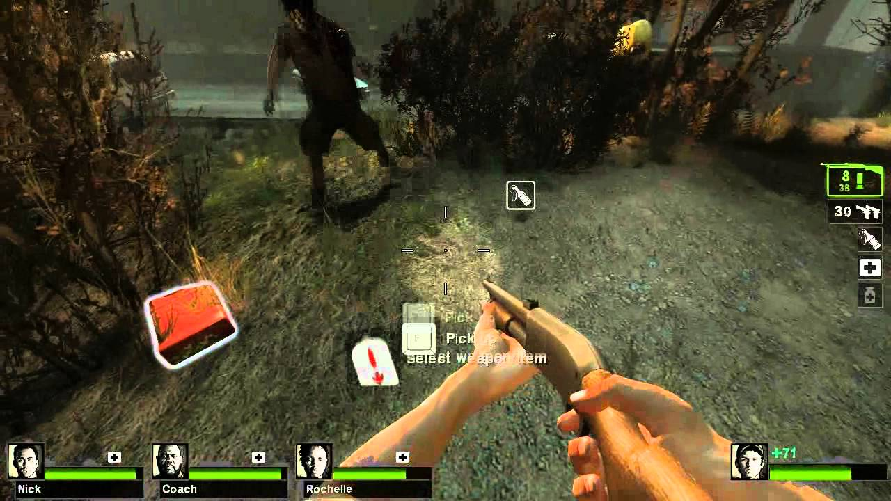 Make Left 4 Dead 2 guns look like L4D1