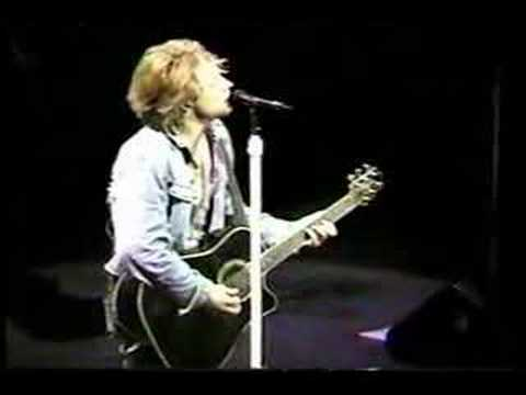 Bon Jovi - Someday I'll be Saturday night (live) -13-05-2001