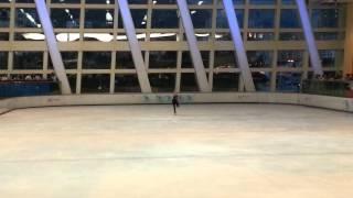 2012 Asian Figure Skating Challenge Hong Kong Elite Junior Ladies Free Skating by Skater Tiffany =]