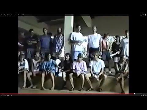 Peace Corps Training - Mores, Guinea Bissau 1990