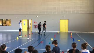 Frontball avec UNSS Corse
