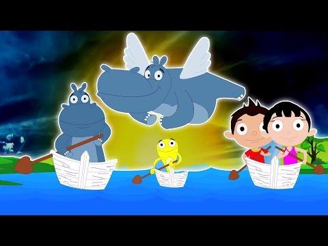 fila fila la barca | compilazione per i bambini | rima popolare vivaio | Row Row Your Boat