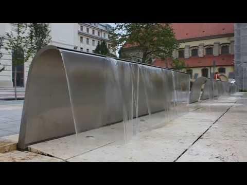 Budapest modern Waterfalls (Hungary)