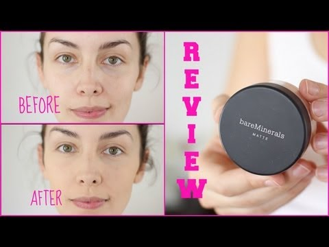 Mineral Makeup Review: Pros, Cons, Demo using BareMinerals | AmandaMuse