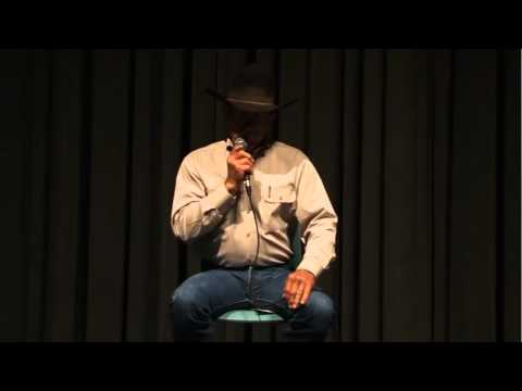 Cowboy Poetry with Joel Nelson   Blanton Museum of Art
