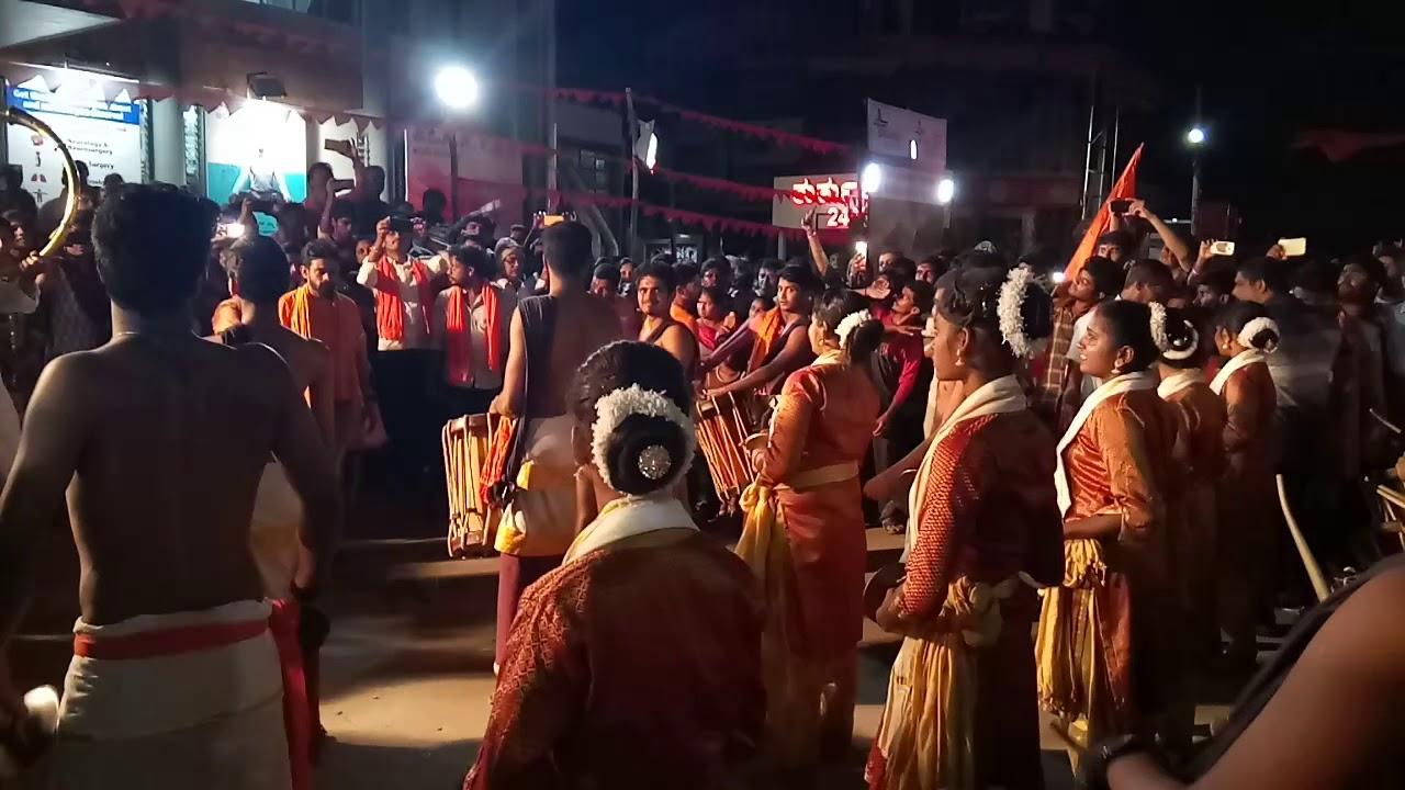 Shimoga Hindu mahasaba synchronized dance...