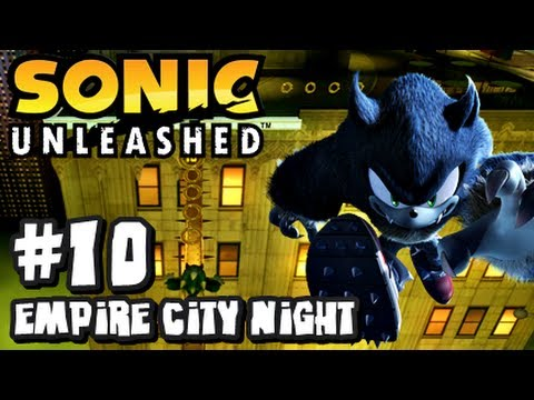 Sonic Unleashed (360/PS3) - (1080p) Part 10 - Empire City Night