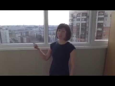 """Видео отзыв о мытье балкона Клининговая компания """"Мята"""""""