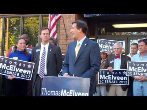 Vincent Sheheen endorses Thomas McElveen in SC Senate District 35