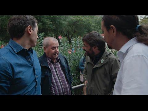 """Un ciudadano de Nou Barris: """"Perdone, ¿usted es Pablo Iglesias? """" - Salvados"""