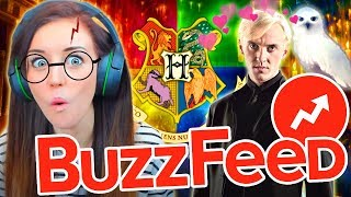 ⚡️⚡️RIDICULOUS BUT ALSO KINDA AMAZING BUZZFEED HARRY POTTER QUIZZES⚡️⚡️