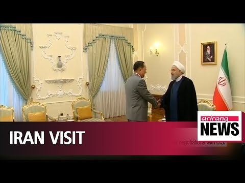 North Korean FM briefs Iranian president on regime's nuclear negotiations with U.S.