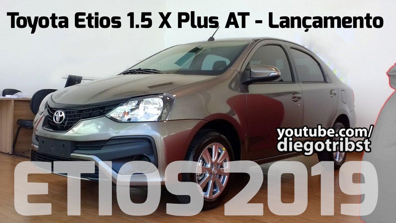 O que muda no Toyota Etios 2019? | Lançamento - YouTube