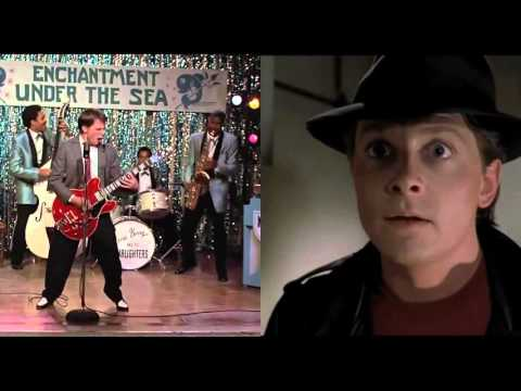 Back to the Future - Johnny B. Goode Side-by-Side Comparison