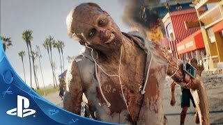 Dead Island 2- Official E3 Announce Trailer | PS4(The one and only Dead Island is heading to the Golden State, and we're bringing the zombie apocalypse to a whole new level! Experience the true ..., 2014-06-10T01:41:29.000Z)