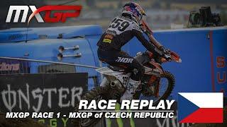MXGP of Czech Republic 2019  Replay MXGP Race 1  Motocross