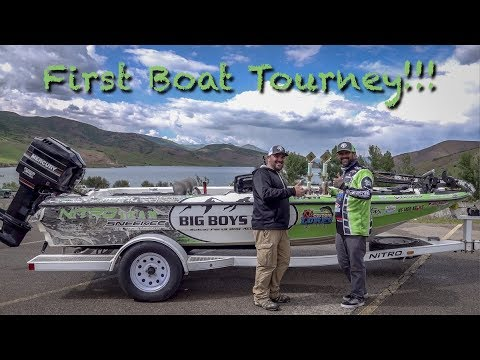 My first Boat Tourney (We Placed!)| Deer Creek Reservoir